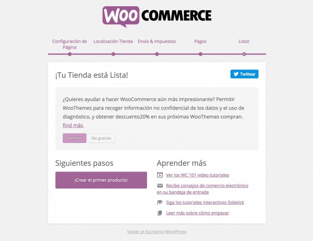 Hacer una Tienda Online con WordPress