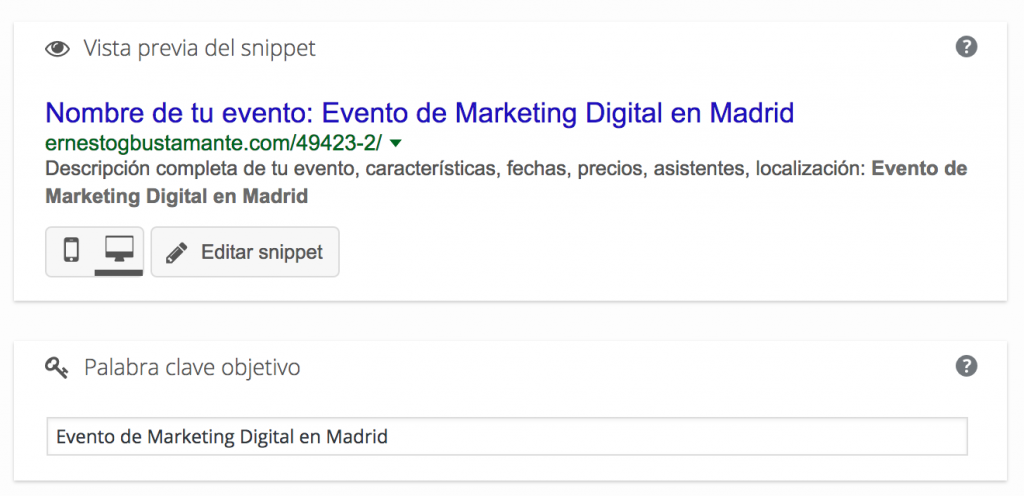 Evento de Marketing Digital en Madrid